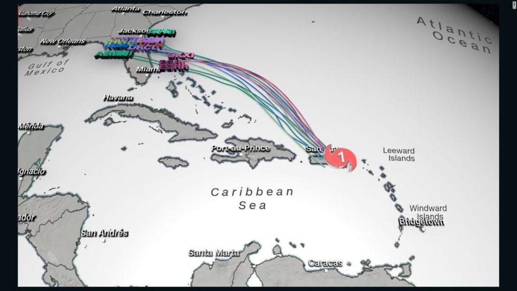 La tormenta tropical Gonzalo establece un récord mientras se mueve hacia el Caribe