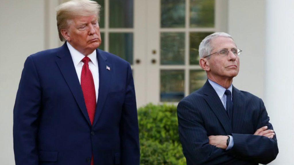 Trump dice que tiene 'muy buena relación' con Fauci después de que un funcionario de la Casa Blanca criticara al médico