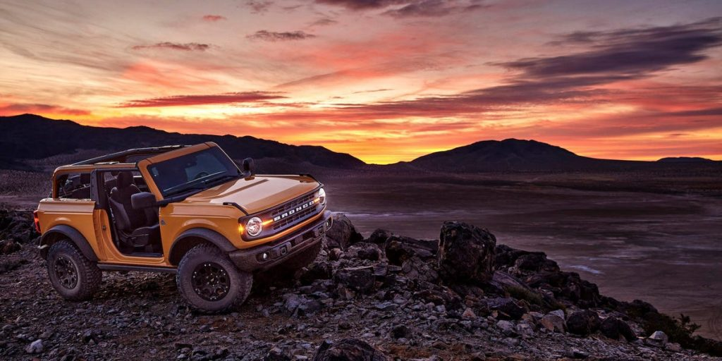 El sitio 2021 de Ford Bronco se estrelló cuando se abrieron las reservas