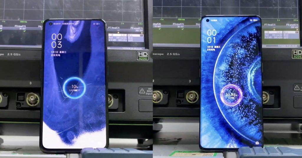Oppo anuncia tecnología de 125W que carga teléfonos en 20 minutos