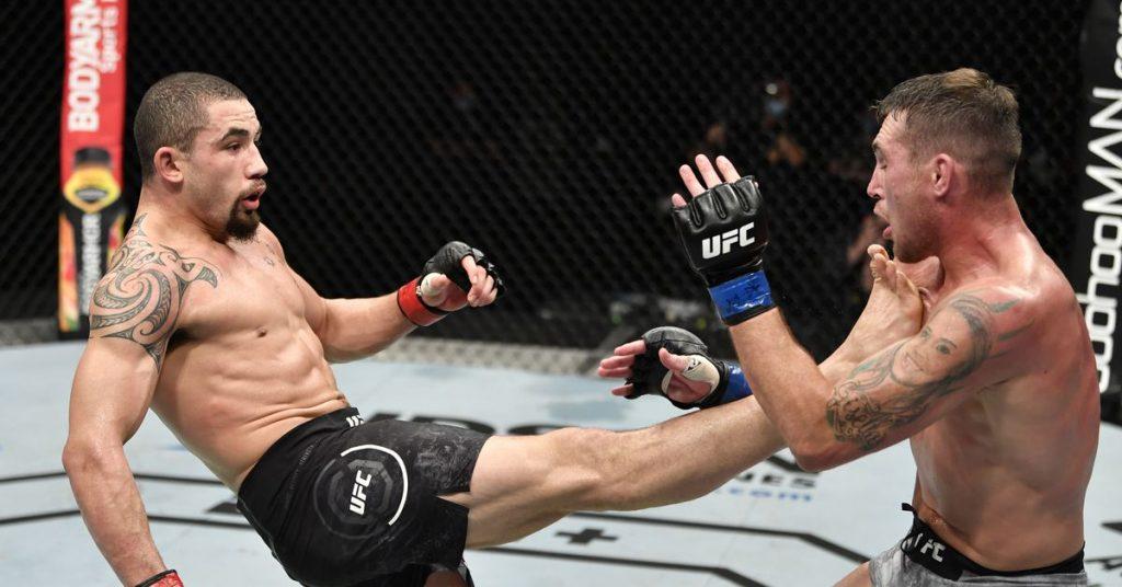 Robert Whittaker vs.Darren hasta la pelea completa video destacado