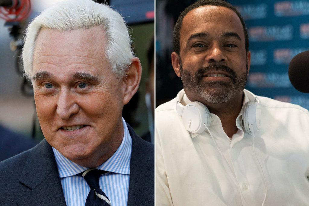 Roger Stone llama al presentador de radio negro Mo'Kelly insulto racial en entrevista