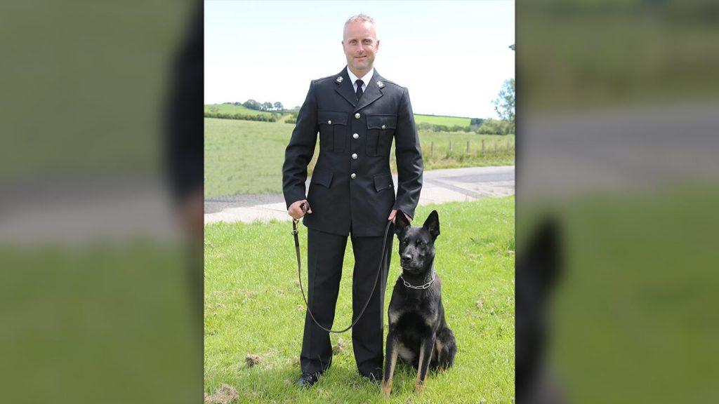 Perro policía encuentra a mamá y bebé desaparecidos en su primer trabajo