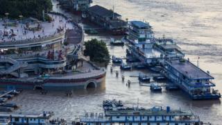 Inundaciones en Chongqing (14 de agosto)