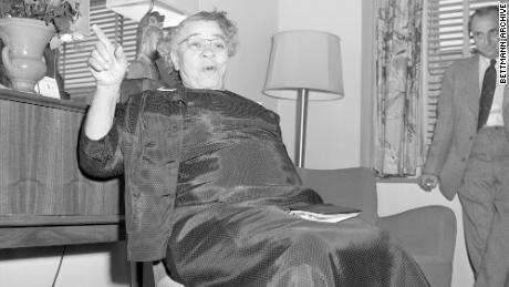 Charlotta A. Bass fue candidata del Partido Progresista a vicepresidente en 1952.