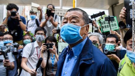 El magnate de los medios de comunicación a favor de la democracia de Hong Kong, Jimmy Lai, arrestado en virtud de la nueva ley de seguridad nacional