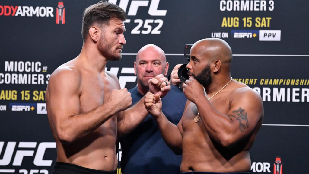 Resultados de UFC 252 - Stipe Miocic vs.Daniel Cormier: actualizaciones en vivo, cartelera, preliminares, momentos destacados, hora de inicio